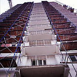 Будівельні рамні риштування комплектація 10 х 6 (м), фото 7