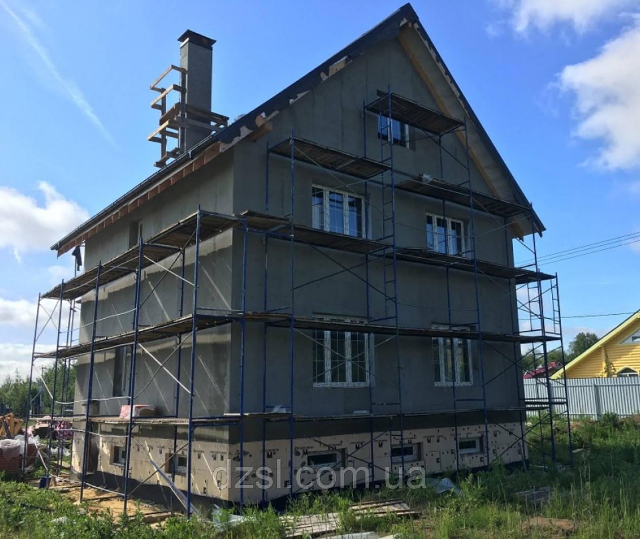 Будівельні рамні риштування комплектація 8 х 6 (м)
