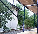 Будівельні рамні риштування комплектація 8 х 6 (м), фото 7