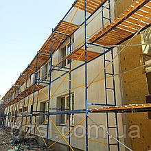 Рамные строительные леса комплектация 6 х 6 (м)