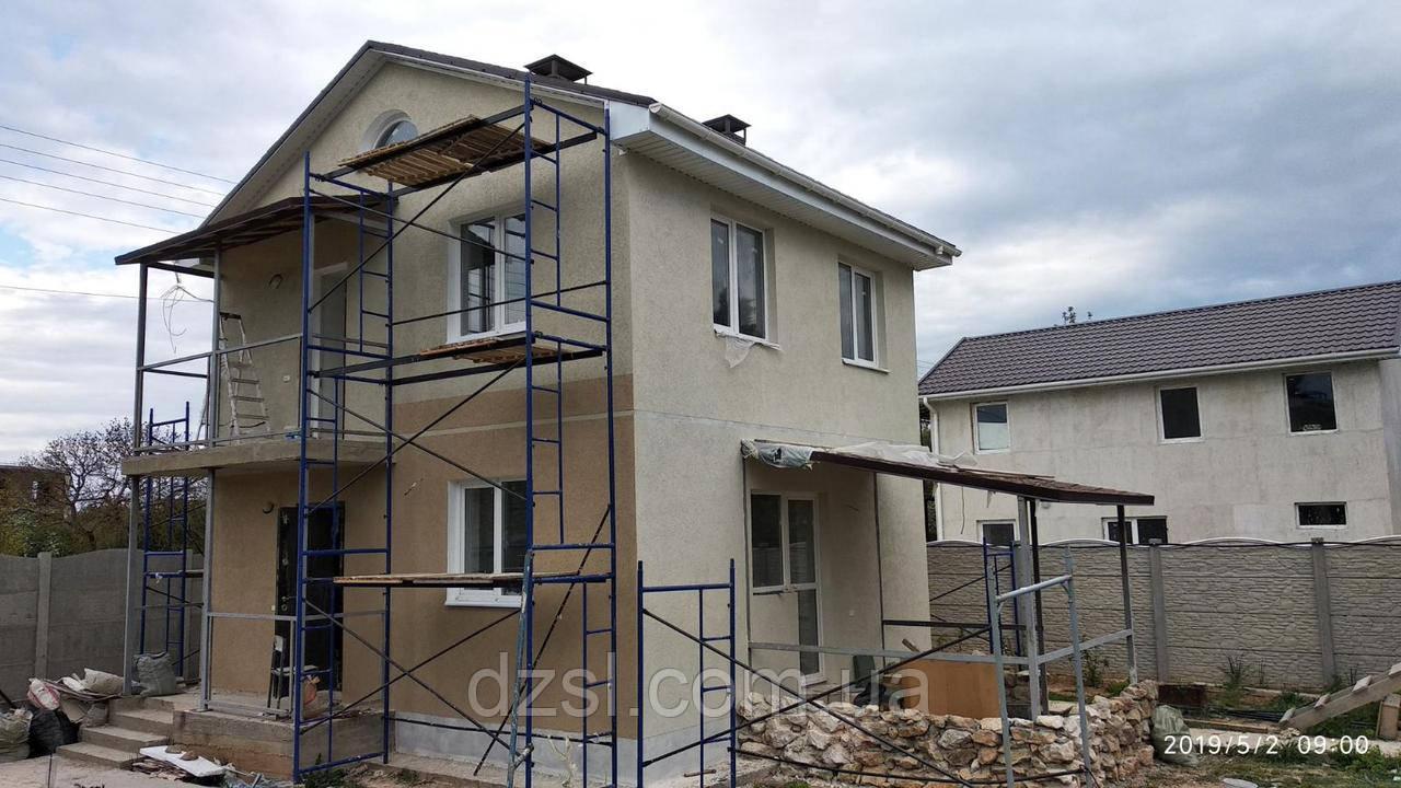 Будівельні рамні риштування комплектація 6 х 3 (м)