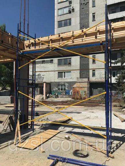Будівельні рамні риштування комплектація 4 х 3 (м)