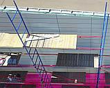 Будівельні риштування клино-хомутові комплектація 2.5 х 10.5 (м), фото 3