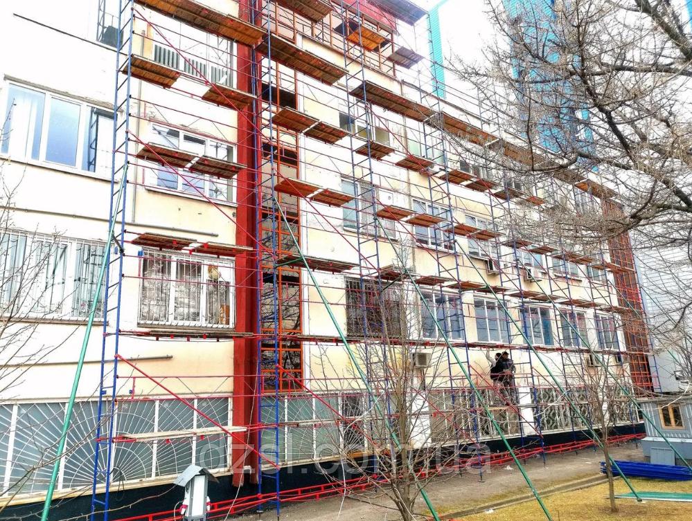 Будівельні риштування клино-хомутові комплектація 2.5 х 3.5 (м)