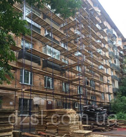 Будівельні риштування комплектація 16 х 15 (м)