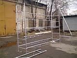 Будівельні риштування клино-хомутові комплектація 5.0 х 7.0 (м), фото 6