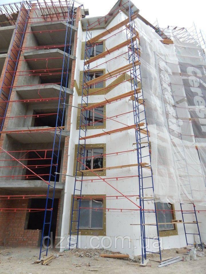 Будівельні риштування клино-хомутові комплектація 10.0 х 7.0 (м)