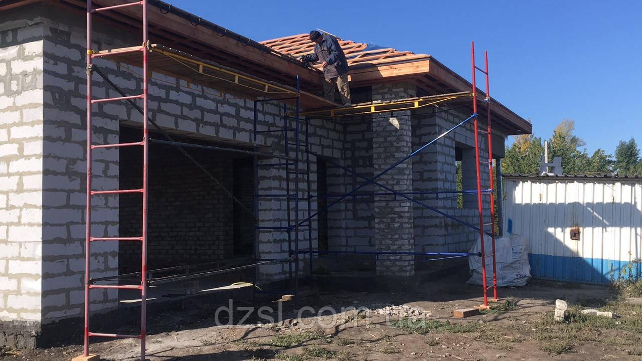 Будівельні риштування клино-хомутові комплектація 10.0 х 10.5 (м)