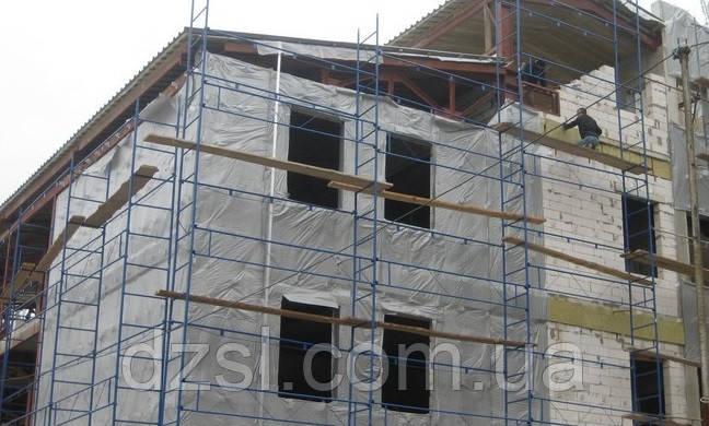 Будівельні риштування клино-хомутові комплектація 15.0 х 17.5 (м)