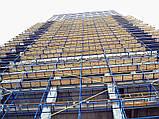 Будівельні риштування клино-хомутові комплектація 15.0 х 17.5 (м), фото 8