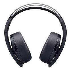 Наушники накладные бпроводные для игровой приставки Sony PlayStation Platinum Wireless Headset Black