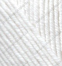Нитки Alize Cashmira 55 белый