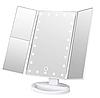 Зеркало для макияжа с подсветкой Led Miror тройное, фото 4