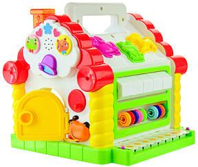 """Развивающая музыкальная игрушка """"Волшебный домик"""""""