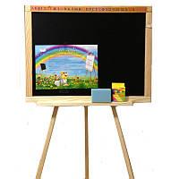 Мольберт ДВП двухсторонний, мольберт,доска для рисования,детские доски для рисования,мольберт детский