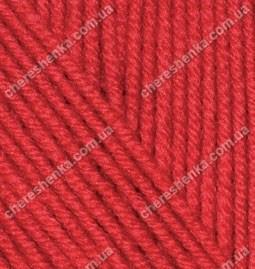 Нитки Alize Cashmira 56 красный