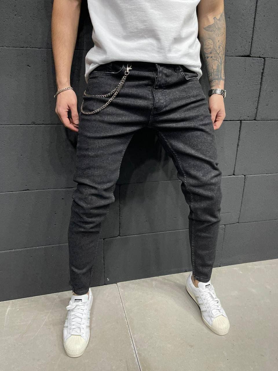 Мужские джинсы 2Y Premium 5870 antracit