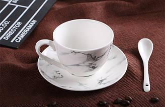 Мармурова кавова чашка. Модель RD-7434