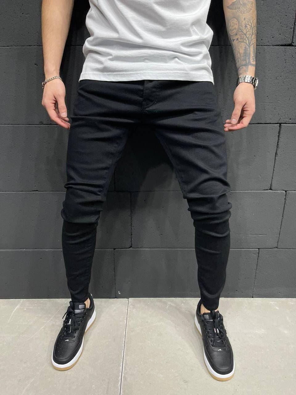 Чоловічі джинси 2Y Premium 5769 black