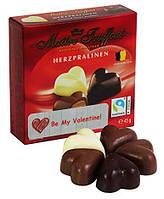 Мини-конфеты СЕРДЕЧКИ бельгийское пралине Maître Truffout 45 г Австрия