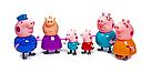 Свинка Пеппа герои Pig Peppa вся семья 6 в 1, фото 2
