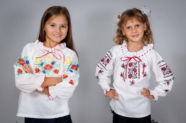 Детские вышиванки на девочку
