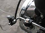 Вітрове скло для мотоцикла під круглу фару Givi прозоре, фото 4