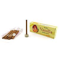Благовоние Vanilla Ananda 20г. Аромапалочки безосновные Ваниль 7см (33936)