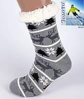 Чоловічі тапочки-шкарпетки з антиковзною поверхнею 39-46 р, фото 1