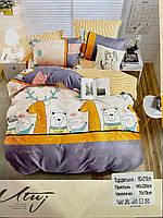 Детский комплект постельного белья UTUJ HOME Сатин 150 х 210