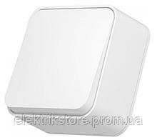 VIDEX BINERA IP20 Выключатель наружный 1кл белый (VF-BNS11-W) (12/120)