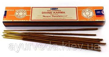 Ароматическиепыльцовыеблаговония Nag Champa Divine Karma - Божественная Карма (15g)