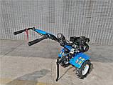 Мотоблок ДТЗ 470 БН (бензин, 7 л.с., передачи 3/1, колеса 4,00-8), фото 5