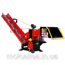 Измельчитель веток Remet RP-120+транспортер 2,3 м (110 мм, 6 ножей, 25 л.с., BOM)