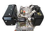 Двигатель дизельный GrunWelt GW186FВ (9,5 л.с., шпонка), фото 7