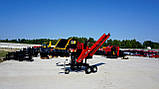 Измельчитель веток Remet RPS-120+транспортер 1,6 м (100 мм, 6 ножей, 16 л.с./бензин), фото 4