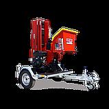 Измельчитель веток Remet RPS-120+платформа+поворотный круг+транспортер 2,3 м (100 мм, 8 ножей 23 л.с./бензин), фото 2
