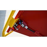Измельчитель веток Remet RPS-120+платформа+поворотный круг+транспортер 2,3 м (100 мм, 8 ножей 23 л.с./бензин), фото 4