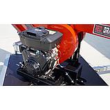 Измельчитель веток Remet RPS-120+платформа+поворотный круг+транспортер 2,3 м (100 мм, 8 ножей 23 л.с./бензин), фото 5