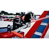 Измельчитель веток Remet RPS-120+платформа+поворотный круг+транспортер 2,3 м (100 мм, 8 ножей 23 л.с./бензин), фото 7