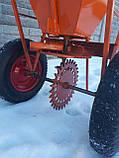 Разбрасыватель ручной универсальный РРУ-55 Булат оранжевый, фото 9