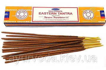 Ароматические палочки Восточнаятантра, Nag Champa Easten Tantra (15gm) Satya