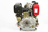 Двигатель дизельный Weima WM186FBE (вал под шпонку) 9.5 л.с., эл.старт., фото 4