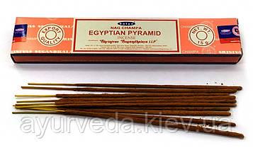 Натуральные ароматические палочки Наг Чампа Египетские Пирамиды, Nag ChampaEgyptian Pyramid