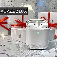 Наушники Apple AirPods 2, Bluetooth (блютус) наушники, беспроводные наушники LUX Копия, видео обзор