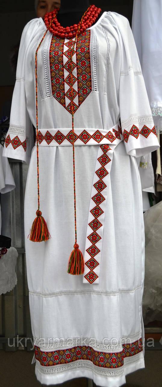 """Жіноче вишите плаття """"Гуцульське"""""""