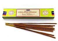 Ароматические пыльцовые благовония Nag Champa Himalayan Jasmine - Гималайский Жасмин (15g) Satya Индия