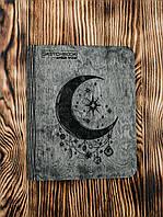 """Блокнот в деревянной обложке """"Magic Night"""" A5 100 листов Бразильское дерево"""