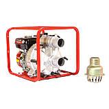 Мотопомпа бензиновая WEIMA WMPW80-26 для грязной воды (78 куб.м/час), фото 3
