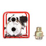 Мотопомпа бензиновая WEIMA WMPW80-26 для грязной воды (78 куб.м/час), фото 4